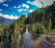 γέφυρα Θιβετιανός στοκ φωτογραφίες με δικαίωμα ελεύθερης χρήσης