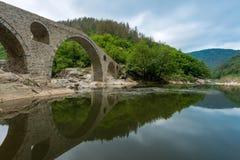 Γέφυρα διαβόλου - μια αρχαία γέφυρα πετρών στη Βουλγαρία, Ευρώπη Στοκ Εικόνα