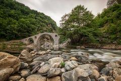 Γέφυρα διαβόλου - μια αρχαία γέφυρα πετρών στη Βουλγαρία, Ευρώπη Στοκ Φωτογραφία