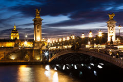 γέφυρα ΙΙΙ Alexandre Στοκ Εικόνες