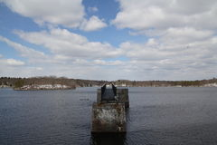 Γέφυρα λιμνών φυλής Στοκ φωτογραφία με δικαίωμα ελεύθερης χρήσης