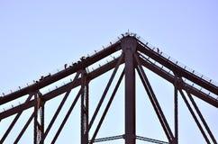 Γέφυρα ιστορίας - Μπρίσμπαν Queensland Αυστραλία Στοκ φωτογραφία με δικαίωμα ελεύθερης χρήσης