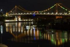 Γέφυρα ιστορίας, Μπρίσμπαν, Queensland, Αυστραλία Στοκ Φωτογραφία