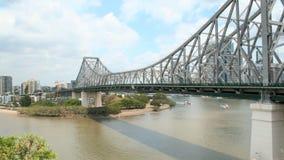 Γέφυρα ιστορίας Timelapse απόθεμα βίντεο