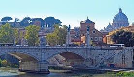 γέφυρα Ιταλία Ρώμη Στοκ εικόνα με δικαίωμα ελεύθερης χρήσης