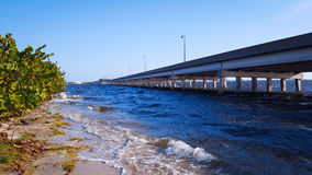 Γέφυρα ιχνών Tamiami Στοκ φωτογραφία με δικαίωμα ελεύθερης χρήσης