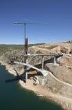 Γέφυρα κάτω από την κατασκευή Στοκ φωτογραφία με δικαίωμα ελεύθερης χρήσης