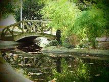 Γέφυρα κήπων Στοκ φωτογραφία με δικαίωμα ελεύθερης χρήσης