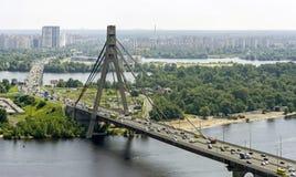 γέφυρα Κίεβο Μόσχα Στοκ Φωτογραφίες