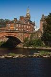 Γέφυρα και Δημαρχείο Annan Στοκ φωτογραφία με δικαίωμα ελεύθερης χρήσης