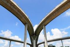 Γέφυρα και ουρανός Στοκ Φωτογραφίες