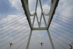 Γέφυρα και σύννεφο Στοκ Εικόνα