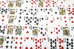γέφυρα καρτών Στοκ εικόνες με δικαίωμα ελεύθερης χρήσης