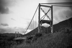 Γέφυρα καλωδίων Στοκ εικόνα με δικαίωμα ελεύθερης χρήσης