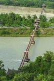 Γέφυρα καλωδίων Στοκ Φωτογραφίες