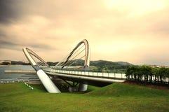 Γέφυρα καλωδίων Putrajaya Στοκ Εικόνες