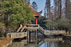 γέφυρα κινέζικα Στοκ Φωτογραφίες