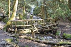 Γέφυρα κούτσουρων Στοκ φωτογραφία με δικαίωμα ελεύθερης χρήσης