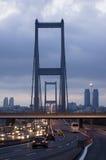 γέφυρα Κωνσταντινούπολη Τουρκία του Βοσπόρου Στοκ Εικόνες