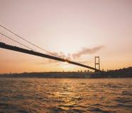 γέφυρα Κωνσταντινούπολη Τουρκία bosphorus Στοκ εικόνες με δικαίωμα ελεύθερης χρήσης