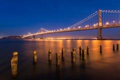 Γέφυρα κόλπων Στοκ Φωτογραφία