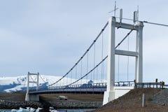 γέφυρα κόλπων joekulsarlon Στοκ εικόνες με δικαίωμα ελεύθερης χρήσης