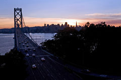 Γέφυρα κόλπων - Νησί των Θησαυρών, Σαν Φρανσίσκο Στοκ εικόνες με δικαίωμα ελεύθερης χρήσης