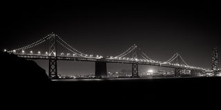 Γέφυρα κόλπων Στοκ Εικόνα