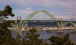 Γέφυρα κόλπων Yaquina Στοκ εικόνες με δικαίωμα ελεύθερης χρήσης