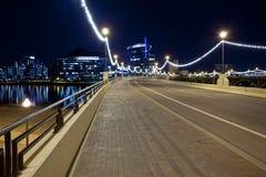 Γέφυρα λεωφόρων μύλων σε στο κέντρο της πόλης Tempe Αριζόνα Στοκ Εικόνες