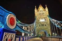 Γέφυρα Λονδίνο Ηνωμένο Βασίλειο πύργων Στοκ Εικόνες
