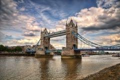 Γέφυρα Λονδίνο Ηνωμένο Βασίλειο πύργων Στοκ φωτογραφία με δικαίωμα ελεύθερης χρήσης