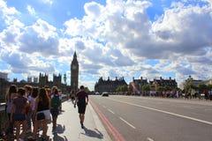 γέφυρα Λονδίνο Γουέστμιν Στοκ Εικόνα