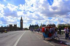 γέφυρα Λονδίνο Γουέστμιν Στοκ Εικόνες