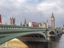 Γέφυρα Λονδίνο του Γουέστμινστερ Στοκ φωτογραφίες με δικαίωμα ελεύθερης χρήσης