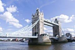Γέφυρα Λονδίνο UK πύργων Στοκ Εικόνες