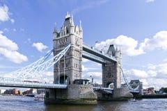 Γέφυρα Λονδίνο UK πύργων Στοκ φωτογραφίες με δικαίωμα ελεύθερης χρήσης