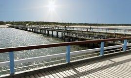 γέφυρα μακριά Στοκ Φωτογραφία