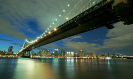 γέφυρα Μανχάτταν Νέα Υόρκη Στοκ Φωτογραφία
