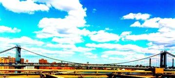 γέφυρα Μανχάτταν Στοκ Εικόνες