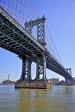γέφυρα Μανχάτταν nyc στοκ φωτογραφία με δικαίωμα ελεύθερης χρήσης