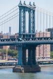 γέφυρα Μανχάτταν nyc Στοκ Εικόνες