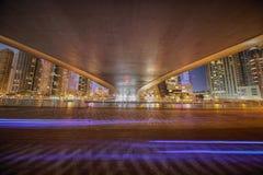 Γέφυρα μαρινών του Ντουμπάι Στοκ Φωτογραφία