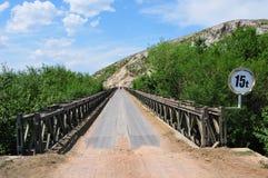 Γέφυρα μετάλλων Στοκ φωτογραφία με δικαίωμα ελεύθερης χρήσης