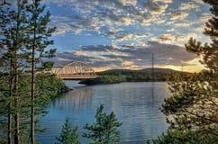 Γέφυρα μη-αστική Στοκ εικόνες με δικαίωμα ελεύθερης χρήσης