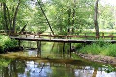 Γέφυρα - μια τεχνητή δομή Στοκ εικόνες με δικαίωμα ελεύθερης χρήσης
