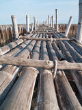 γέφυρα μπαμπού Στοκ φωτογραφίες με δικαίωμα ελεύθερης χρήσης