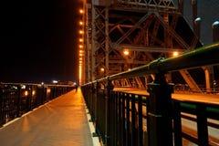 Γέφυρα Μπρίσμπαν ιστορίας Στοκ Εικόνες