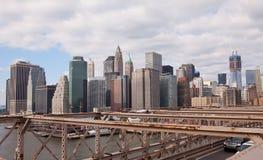 γέφυρα Μπρούκλιν Μανχάτταν &pi Στοκ εικόνα με δικαίωμα ελεύθερης χρήσης
