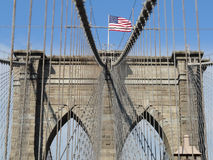 γέφυρα Μπρούκλιν Στοκ Εικόνα
